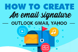 Come creare una e-mail signature con il tuo logo su Outlook, Gmail, Yahoo