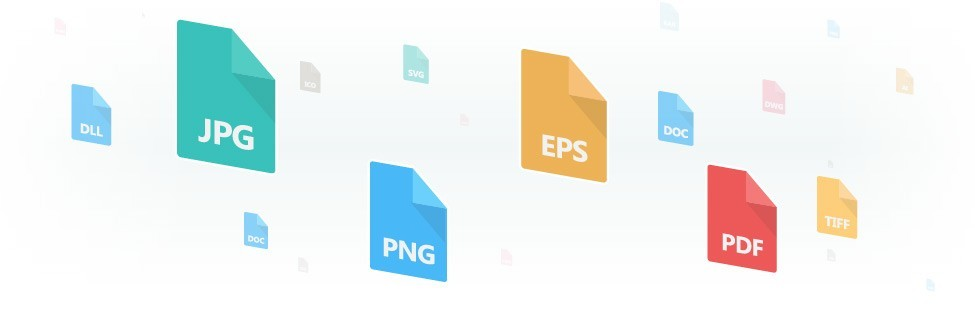 Obtain your logo in JPG, EPS, PDF, AI